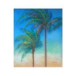Obraz - Palmy ve větru