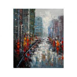 Obraz - Rušná ulice