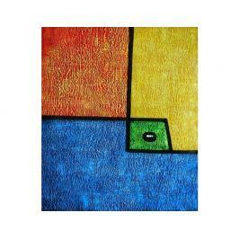 Obraz - Zelená kostka