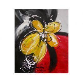 Obraz - Moderní žlutý květ
