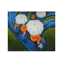 Obraz - Pod deštníky