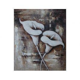 Obraz - Bílé květy