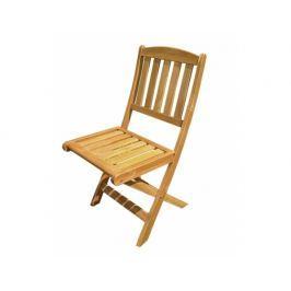 Zahradní židle, skládací, 2ks