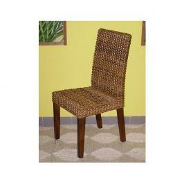 Ratanová jídelní židle Lenka-banánový list