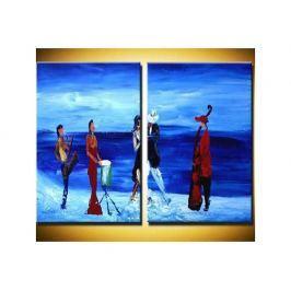 Vícedílné obrazy - Na ledě