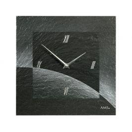 Designové nástěnné břidlicové hodiny 9518 AMS 30cm