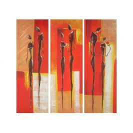 Obrazový set - Třikrát žena a muž Obrazy