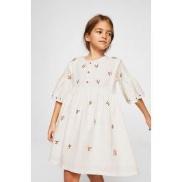 Mango Kids - Dětské šaty Rustic 110-152 cm