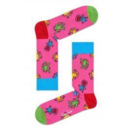 Happy Socks - Ponožky Keith Haring Dancing