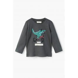 Mango Kids - Dětské tričko s dlouhým rukávem Crum 80-104 cm