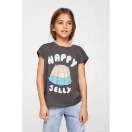 Mango Kids - Dětský top Cake 110-164 cm DÍVKA, Oblečení, Topy a trička, S krátkým rukávem
