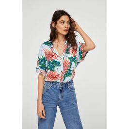 Mango - Košile River ONA, Oblečení, Halenky a košile, Košile s krátkým rukávem