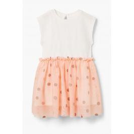 Mango Kids - Dětské šaty Pink 80-104 cm