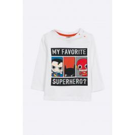 Blukids - Dětské tričko s dlouhým rukávem DC Comics 68-98 cm