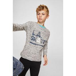 Mango Kids - Dětské tričko s dlouhým rukávem New 116-164 cm