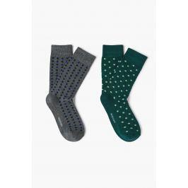 Mango Man - Ponožky Dots (2-pak)