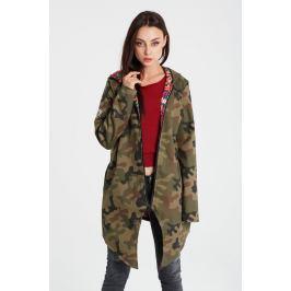 Naoko - Bunda dwustronna Camouflage Fleurs x Edyta Górniak