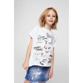 Mango Kids - Dětská sukně sue 110-164 cm
