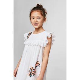 Mango Kids - Dětské šaty Clot 110-152 cm