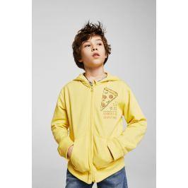 Mango Kids - Dětská mikina Ziphood 110-164 cm