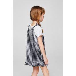 Mango Kids - Dětské šaty Vichy 110-164 cm
