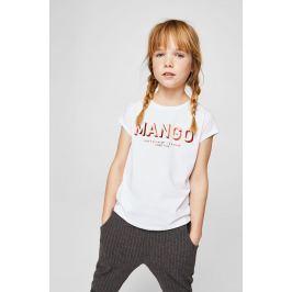 Mango Kids - Dětský top Mangof2 104-164 cm