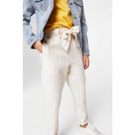 Mango Kids - Kalhoty dětské Mint 110-164 cm
