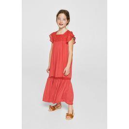Mango Kids - Šaty dětská Repic 110-152 cm