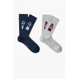 Mango Man - Ponožky Animal (2-pak)
