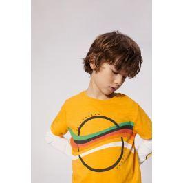 Mango Kids - Dětské tričko teo 104-164 cm