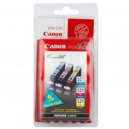 Canon CLI-521 C/M/Y - originál Originální náplně pro inkoustové tiskárny Canon Pixma iP4600