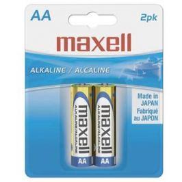 Baterie alkalická, AA, 1.5V, Maxell, blistr, 2-pack, cena za 1 ks baterie