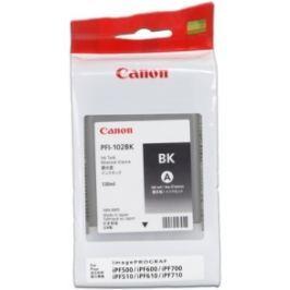 Canon PFI-102Bk - originál