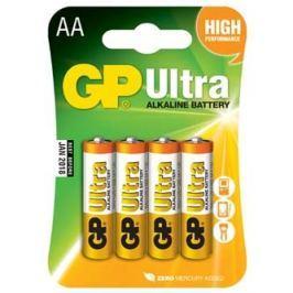 Baterie alkalická, AA, 1.5V, GP, blistr, 6+2 pack, ULTRA, cena za 1 ks baterie už po slevě